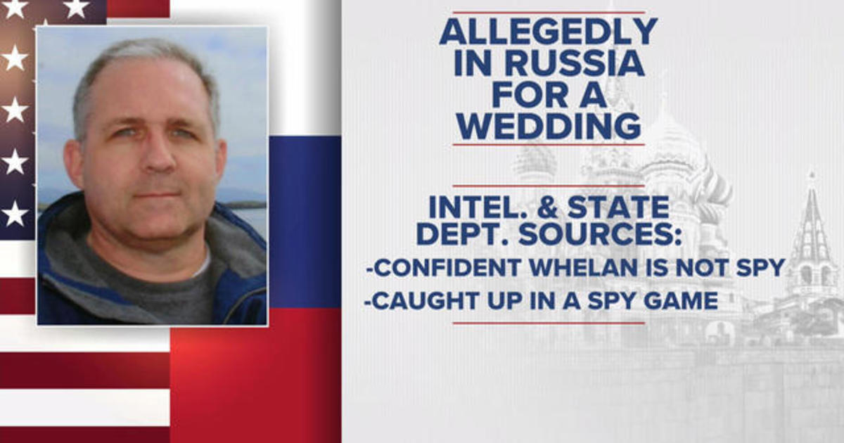 Paul Whelan accused by Russia of being a spy due in Moscow court on espionage allegations today - Live updates - CBS News