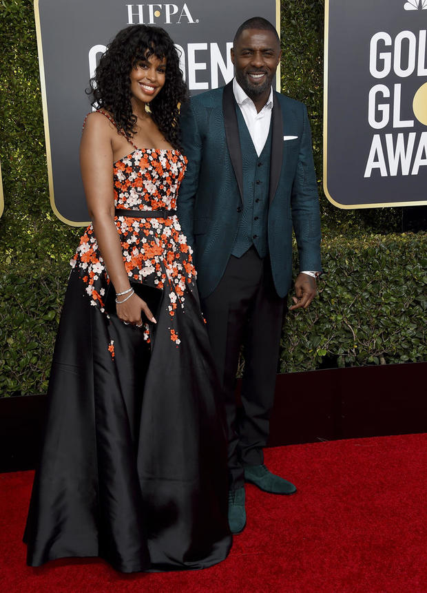 Idris Elba,Sabrina Dhowre