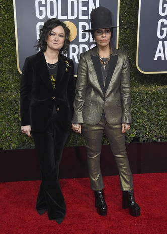 Golden Globes red carpet 2019