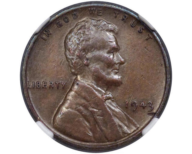 1943 penny: Rare penny found in lunch money to sell at
