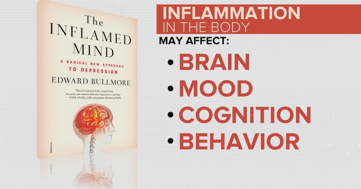 How inflammation in the body could be causing depression