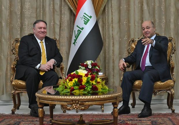 IRAQ-US-DIPLOMACY-POMPEO-POLITICS-CONFLICT