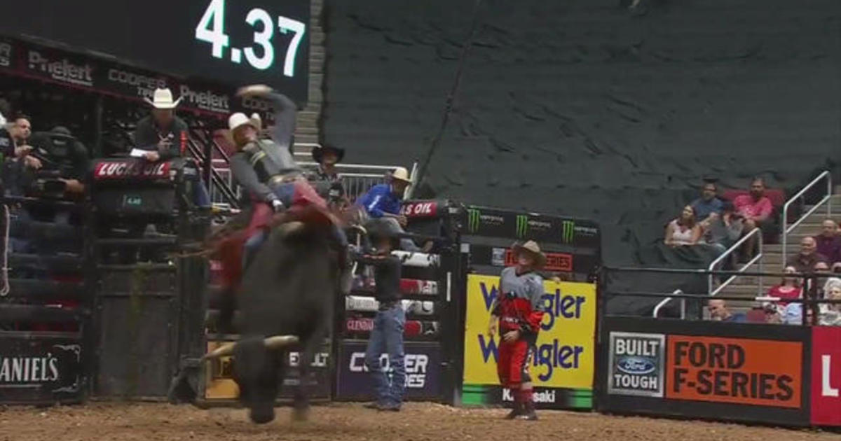 Mason Lowe death: Witness describes bull rider's fatal ride at PBR Denver event - CBS News
