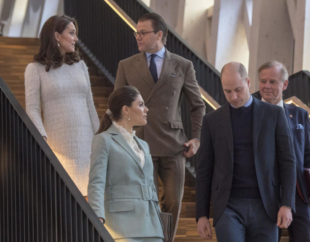 The Duke And Duchess Of Cambridge Visit Sweden And Norway - Day 2