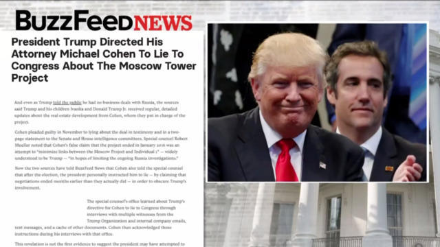 Image result for buzzfeed cohen trump