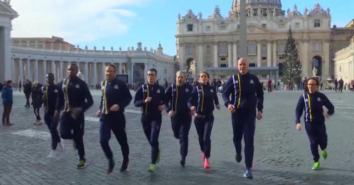 Vatican track team passes milestone, sets sights on ...