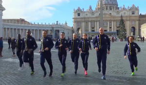 Godspeed: Vatican's track team passes milestone with first race