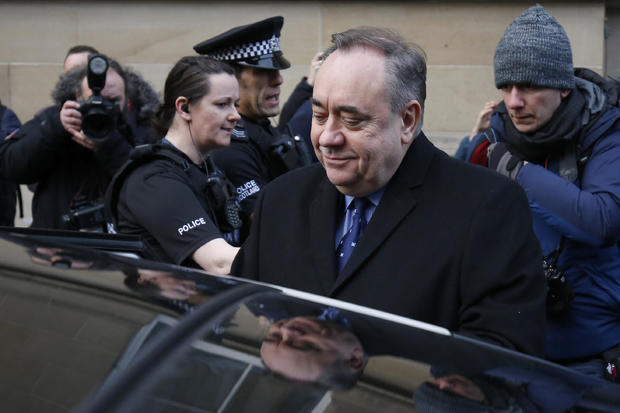 Alex Salmond, Scotland's Former First Minister, Appears In Court
