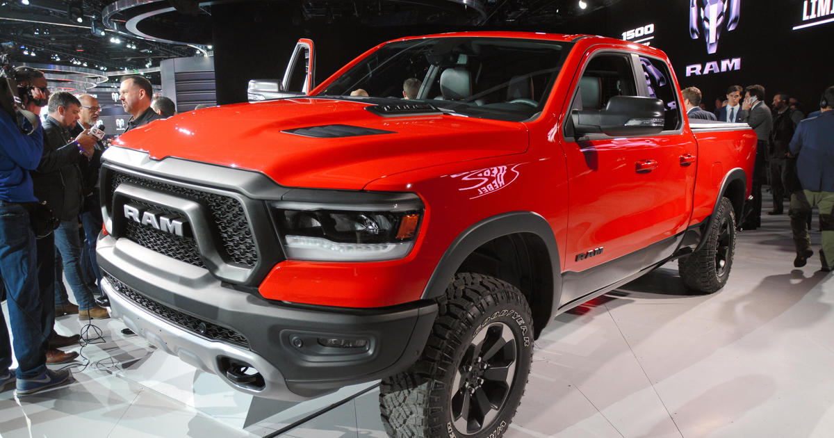 Fiat Chrysler Recalls 182 000 Ram Trucks Over Steering Failures Cbs News