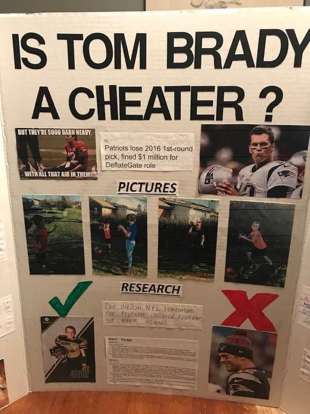 10-year-old attempts to prove Tom Brady is a