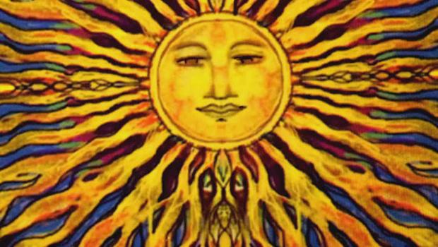 "Here comes the sun! ""Sunday Morning"" sun art"