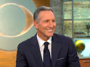 """Howard Schultz on a 2020 run: """"I think I can beat the system"""""""