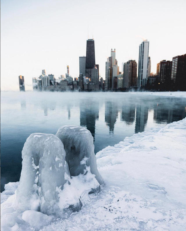 Polar vortex: Not the Arctic - Polar vortex 2019: Chilling