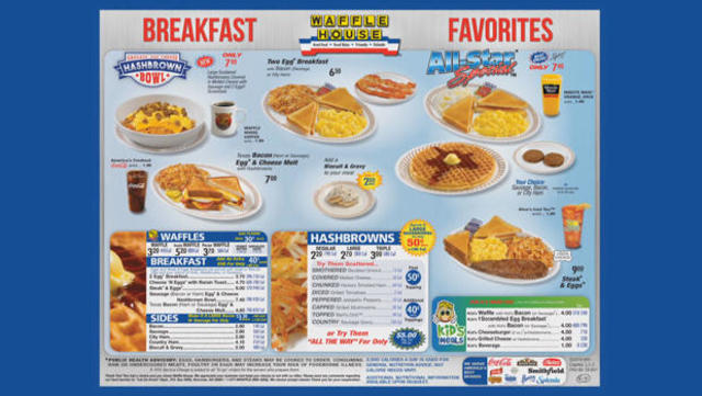Waffle House: The destination for Southern comfort - CBS News