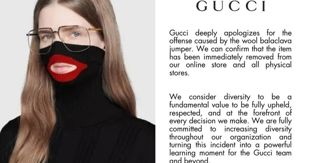 f80f4c6f47d Gucci blackface sweater  Gucci removes  890