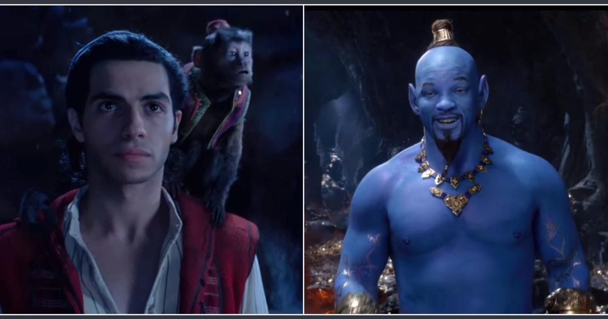 Aladdin Trailer 2019 Disney Drops Teaser Video For Live