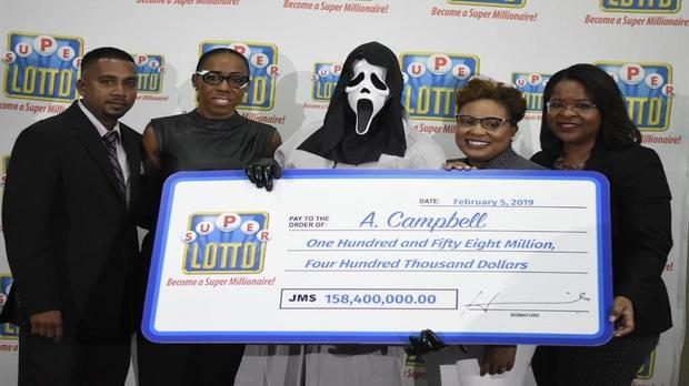 Jamaican Lotto Winner Claims $1.2 Million Prize In Scream Mask