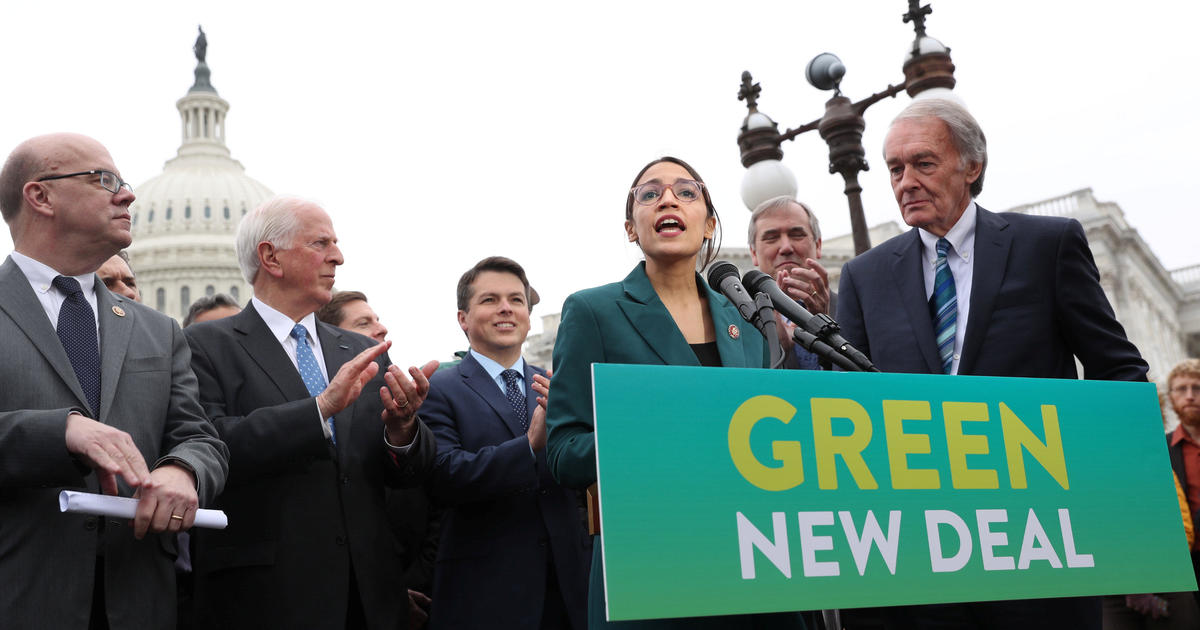Markey and Ocasio-Cortez reintroduce Green New Deal