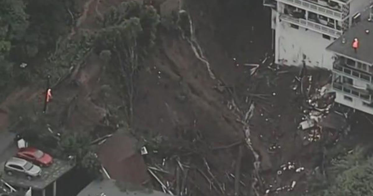 Privacy Policy >> Atmospheric river in California causes destructive mudslides - CBS News
