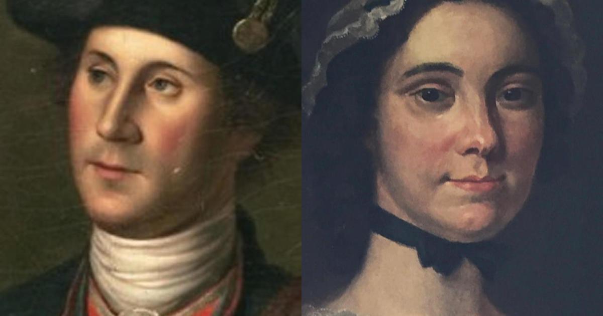 The forgotten story of George Washington's love life