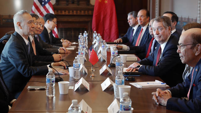 US-China Trade Talks Open In Washington DC