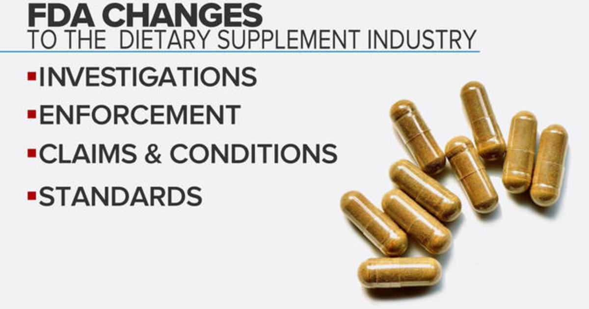 FDA raises concerns about potentially harmful dietary supplements
