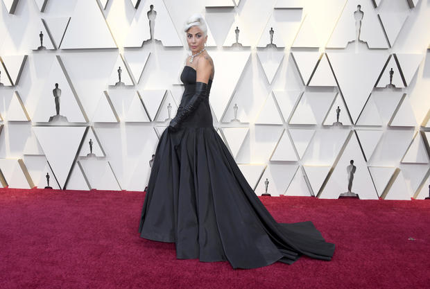 c1963b72366bf Lady Gaga - Oscars 2019  Red carpet arrivals at the 91st Academy Awards -  Pictures - CBS News