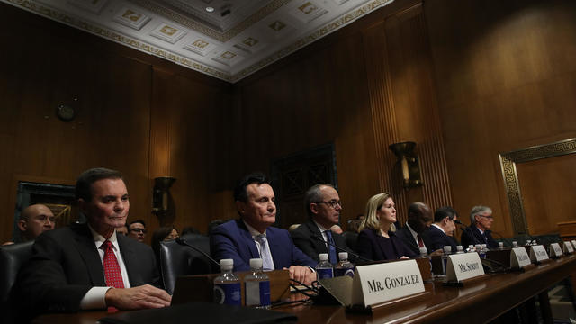 Pharmaceutical Executives Testify At Senate Finance Committee Hearing On Drug Prices
