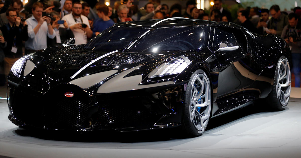 Bugatti Sells Most Expensive Car Ever Made For 12 5 Million Cbs News