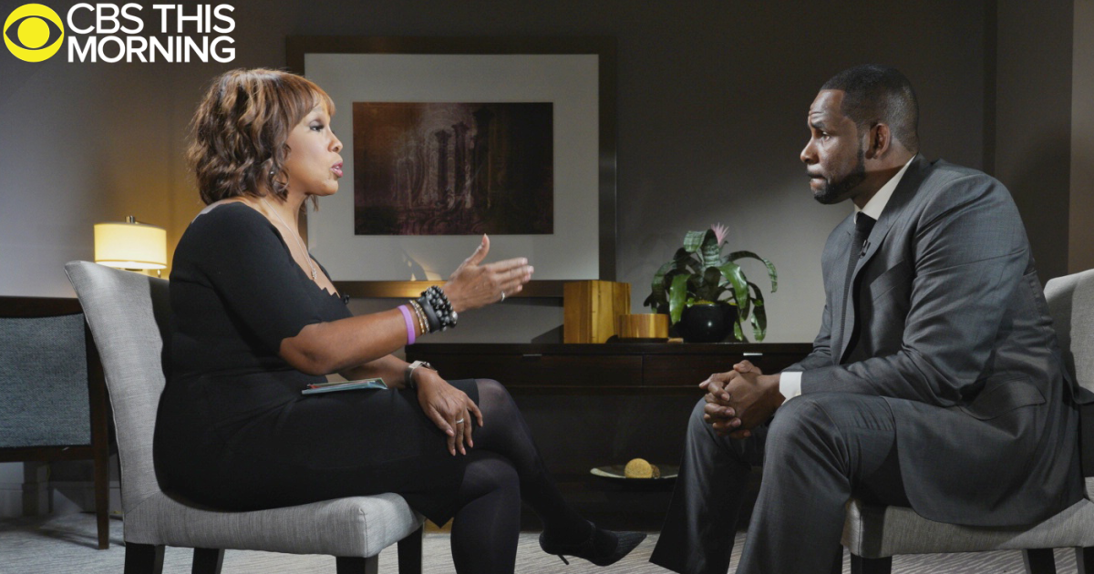 R  Kelly interview: R  Kelly denies sexual abuse allegations in
