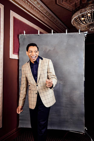 "Fabulous portraits of the cast of ""Ain't Too Proud: The Life and Times of The Temptations"""