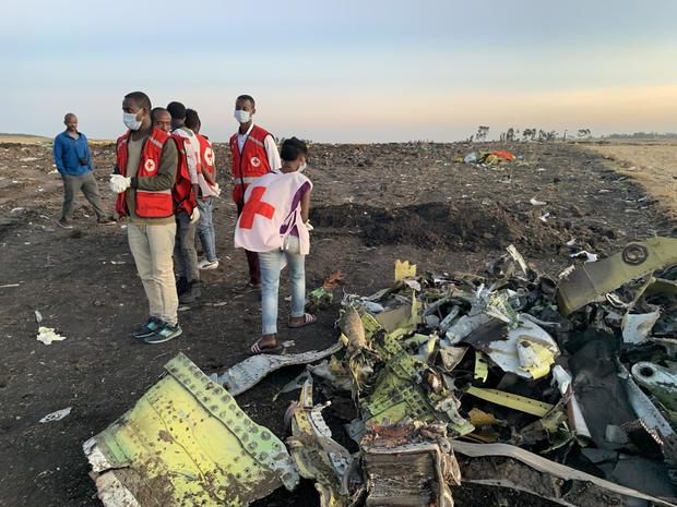 Ethiopian Airlines plane crash
