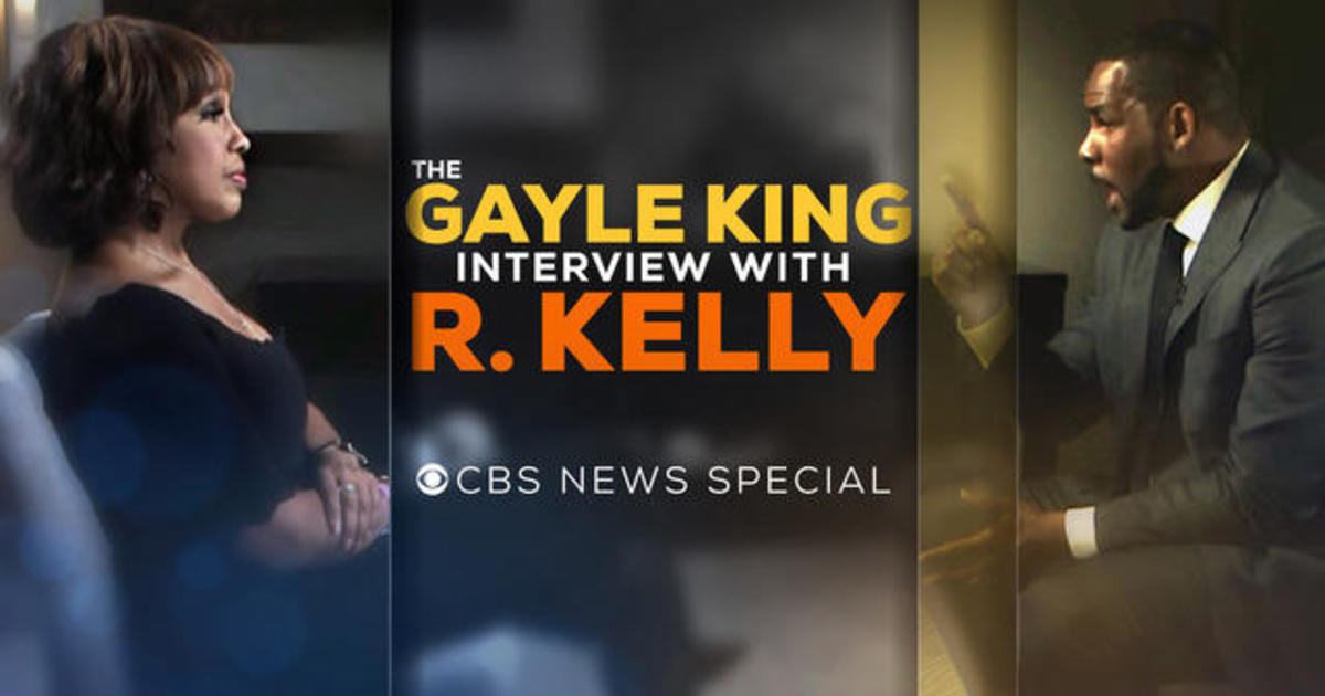 The Gayle King Interview with R  Kelly - CBS News