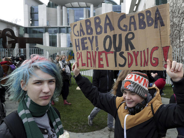 Germany Climate Student Protests