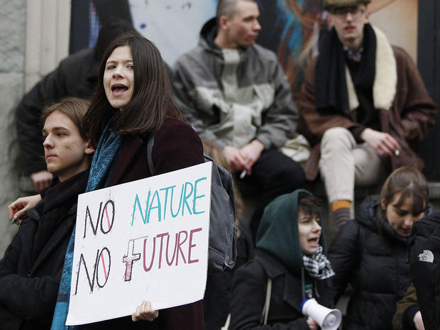 Poland Climate Student Protests