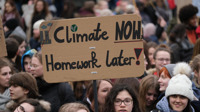 Student Climate Strikes Continue Across Germany