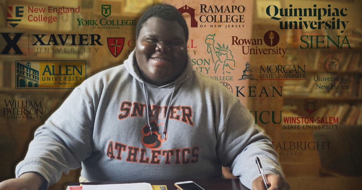 Formerly homeless teen gets into his dream school, after 17 other college acceptances