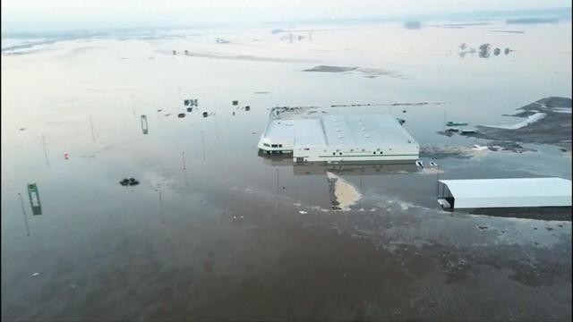 Nebraska flooding: Midwest flood damage will likely total