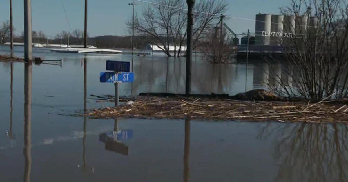 Nothing spared in parts of Iowa as flooding submerges homes