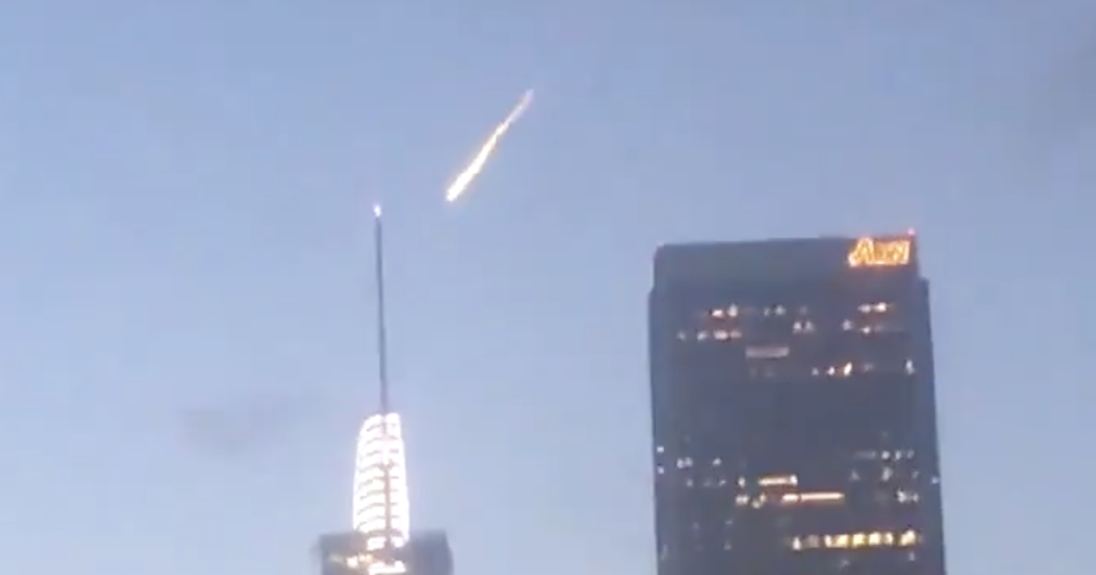 Mysterious flash of light spotted over Los Angeles not a