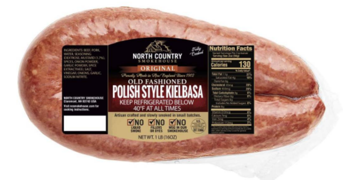 Sausage recall: North Country Smokehouse recalls 2,600