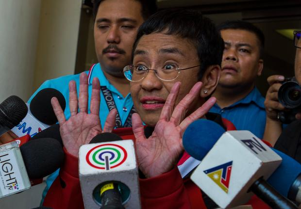 PHILIPPINES-MEDIA-COURT