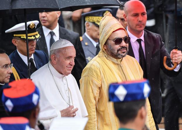 MOROCCO-VATICAN-POPE-RELIGION