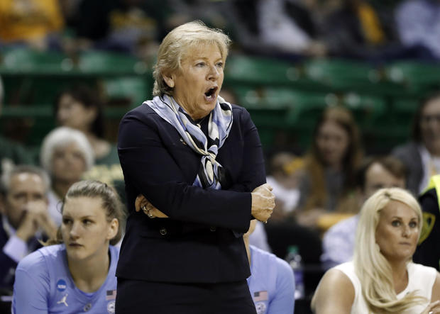 North Carolina places women's basketball coach and assistants on administrative leave