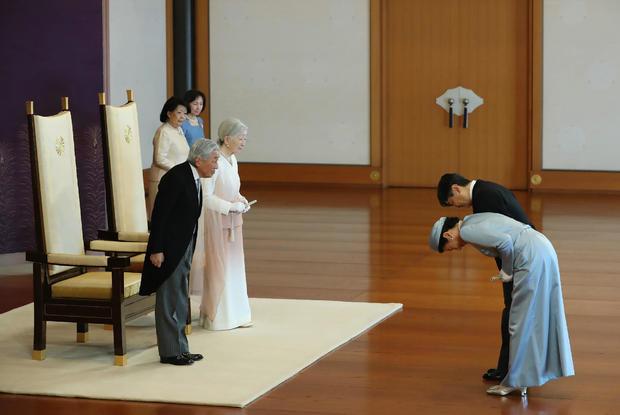 JAPAN-ROYALS-EMPEROR-ANNIVERSARY