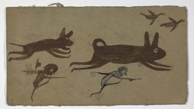 bill-traylor-gallery-untitled-chase-scene-2015-25-front.jpg