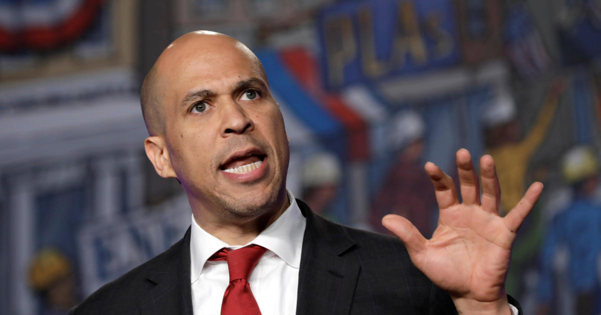 Cory Booker unveils plan to protect abortion rights if he's elected president