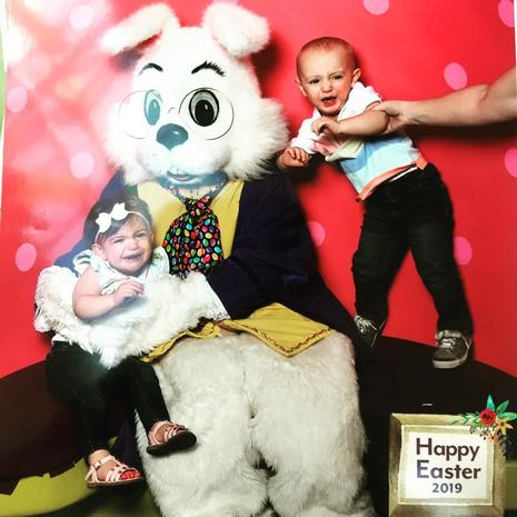 Awkward Easter Bunny photos