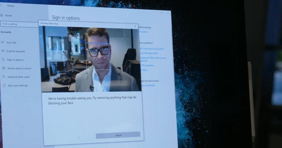 cbsnews.com - Microsoft looks toward a password-free future of data security