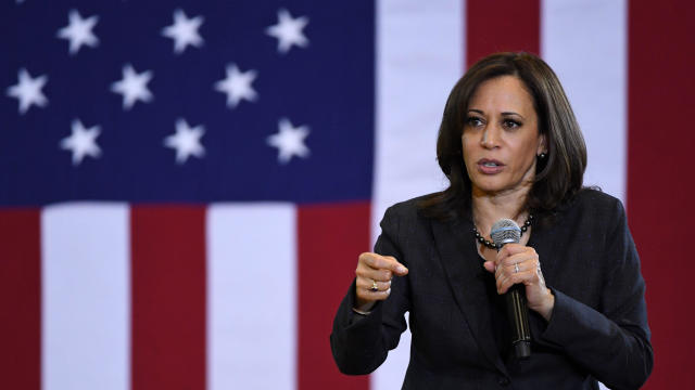 Democratic Presidential Candidate Sen. Kamala Harris Attends Campaign Events In Las Vegas